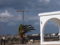 Blustery weather across Cyprus as New Years events kick off