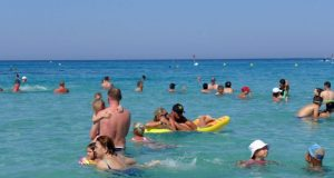 Tourism revenue up 15% in June to €347m, Cystat says