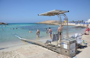 Cyprus Tourism Organisation makes 47 beaches accessible to people with special needs