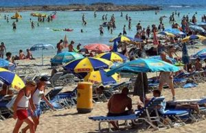 Over 30 million British tourists in 30 years