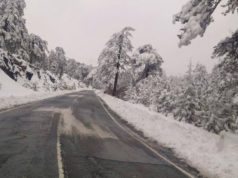 Wintry weather continues, temperatures drop below averages