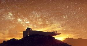 Star Wars inspired observatory for Troodos