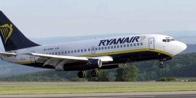 Ryanair launches new Paphos route to Dublin