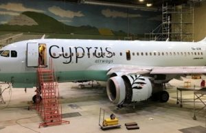 Cyprus Airways' new livery and logo revealed