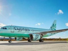 The new Cyprus Airways gets its first plane