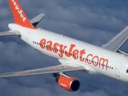 British men held after easyJet flight is diverted