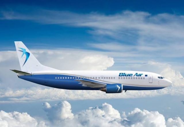 Blue Air flights from Larnaca to Luton from April 25