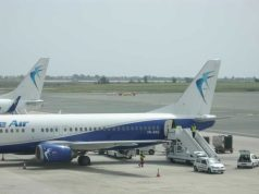 Blue Air's second aircraft lands at Larnaca