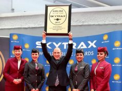 QATAR AIRWAYS wins airlines of the year at the 2017 Skytrax Awards