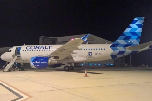 Cobalt says fourth Airbus 320 added to fleet