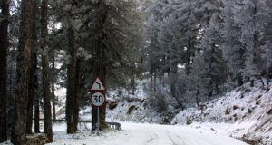 Bad weather keeps mountain roads closed