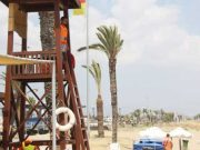 Swimmers at risk at Famagusta beaches