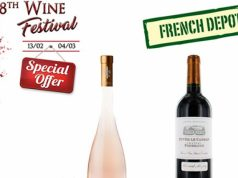 French Depot gear up for 8th Wine Festival