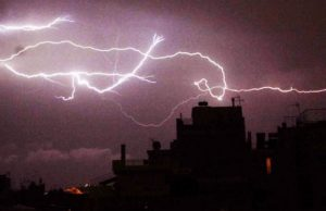 Stormy weather expected on Tuesday