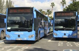 Bus drivers on strike again in Paphos! 18,000 passengers left stranded!