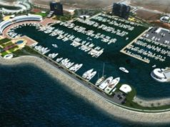 Ayia Napa marina construction bids in
