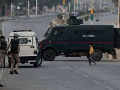 Three killed as militants attack airport security camp in Kashmir