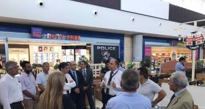 Officials and MPs tour Paphos airport