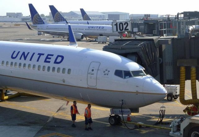 United flight diverted after man spreads faeces in lavatories