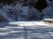Troodos roads open but slippery