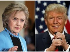 Trump hits back at Clinton, with a golf ball, on Twitter
