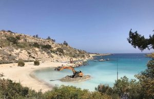 Interior minister calls on Paralimni to end unlicensed beach activities
