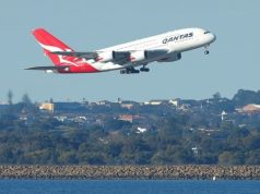 Qantas launches first direct flight from Australia to London