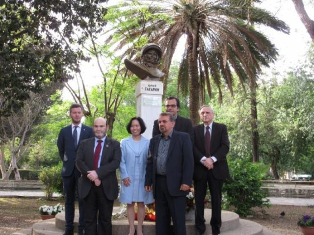Cyprus celebrates Gagarin's space flight, wishing for peace to prevail on Earth