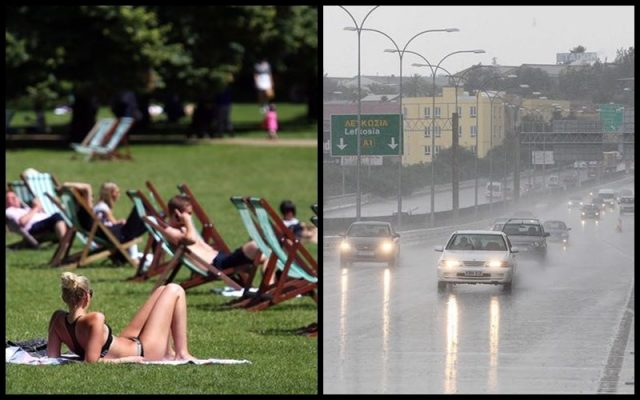 Britain hotter than Cyprus as temperatures soar, Stormy and cloudy weather on the way!