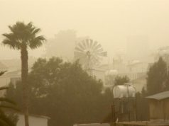 Weather forecast: Dust to remain in atmosphere until Friday