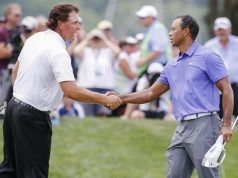 Tiger's best golf will never be repeated, says Mickelson