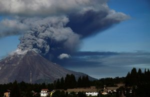 Indonesia evacuates residents, shuts airport after Java volcano erupts