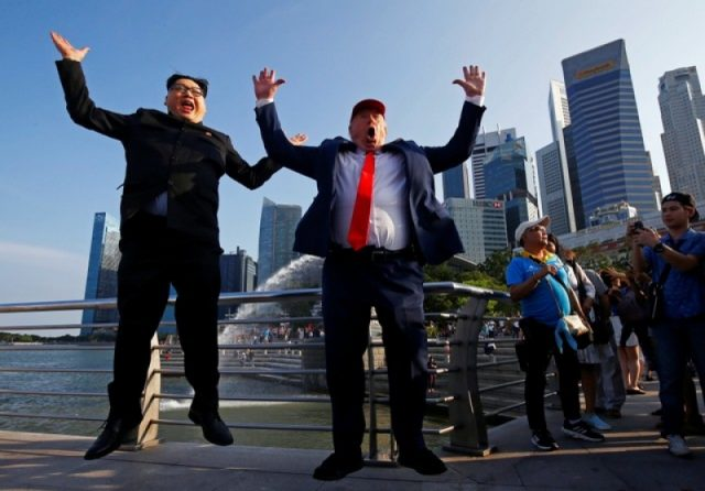 Kim Jong Un impersonator says detained for hours at Singapore airport