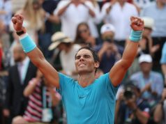 Nadal too good for battling Thiem, wins eleventh Paris Open title
