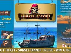 Win A Free Ticket For The Black Pearl Sunset Dinner Cruise