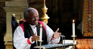 U.S. bishop wows royal wedding with impassioned sermon on love