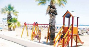 Larnaca beaches to become family-friendly with large playgrounds
