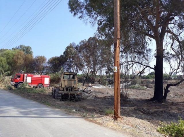 Steps to prevent fires in camping sites by Forestry Department