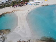 Nissi Beach among world's best beaches, valued at 25 million pounds according to Canvas Holidays