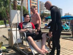 Diving centres seeking to cater for increase in disabled divers