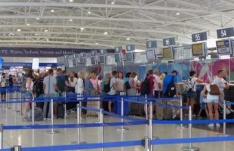 Everything went smoothly at Larnaca airport on Sunday, as passenger traffic hits record numbers