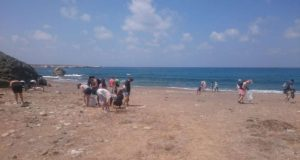 Young Greens collect 61.52 kilos of rubbish in Lara Beach clean-up