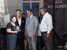Chris Lazari is honoured in Cyprus by the first Festival of Friendship and Culture