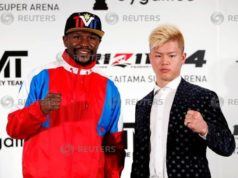 Mayweather to fight kickboxer in Japan on New Year's Eve