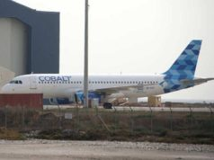 Cobalt jets 'stranded' at Larnaca airport