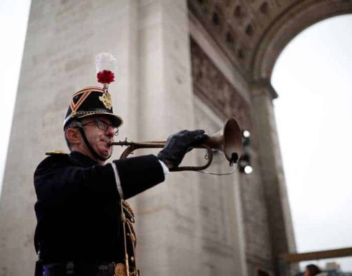 Cyprus president in Paris for Armistice Day events