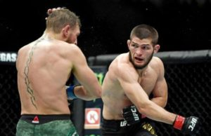 Nurmagomedov lays down a challenge to Mayweather