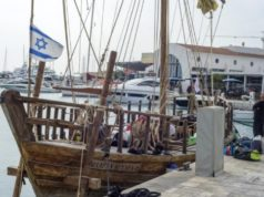 Replica of 2,400-year-old Israeli ship – that carried Cypriot pots – docks at Limassol Marina