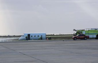 Large-scale emergency exercise held at Larnaca Airport (photos)