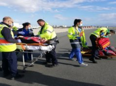 "Emergency exercise called ""Plane Crash"" took place at Larnaca Airport (pics)"